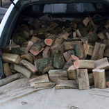 One truck load of logs, approx 350